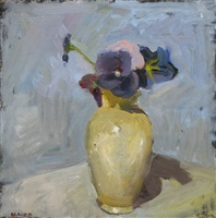 pansies by catherine maize