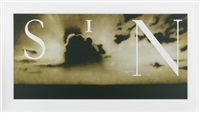 sin-without (yellow c.t.p.) by ed ruscha