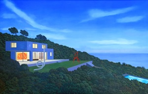 pacific bluff house by tom mckinley