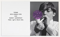 scene ( ) / take ( ) : bubble pipe by john baldessari