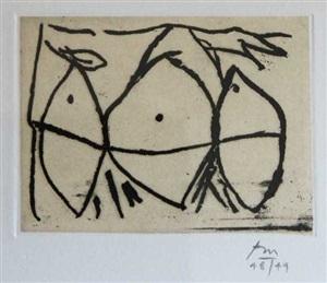 hollow men (belknap #341) by robert motherwell