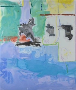 west wind by helen frankenthaler