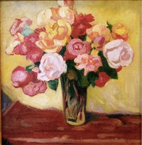 bouquet of flowers by louis valtat