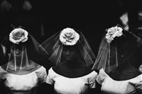 time of change (three bridesmaids) by bruce davidson