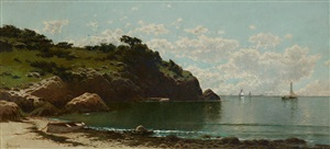 low tide by alfred thompson bricher
