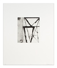etchings to rexroth (l.40), 17 by brice marden