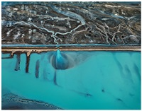 erro prieto geothermal power station, baja, mexico by edward burtynsky