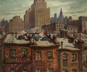 manhattan monday by henry martin gasser