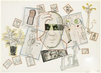 hommage to picasso by larry rivers