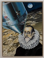 el greco on mars by erró