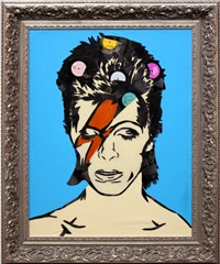 david bowie by mr. brainwash