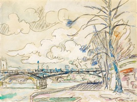 paris, les quais by paul signac