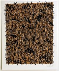 untitled (from kinderstern portfolio) by günther uecker