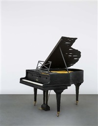smoke pleyel piano by maarten baas