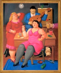 a party by fernando botero