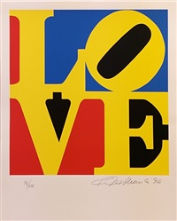love (red yellow blue ) by robert indiana