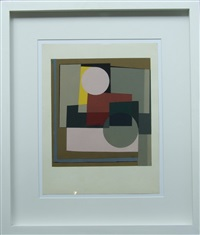 two circles by ben nicholson
