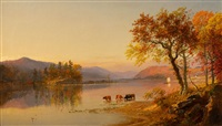 greenwood lake by jasper francis cropsey