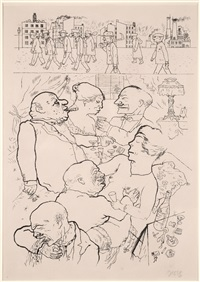 the earl at 4am by george grosz