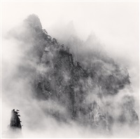 huangshan mountains, study no 1, anhui, china, 2008 by michael kenna