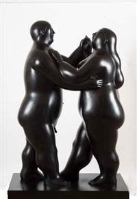 bailarines by fernando botero