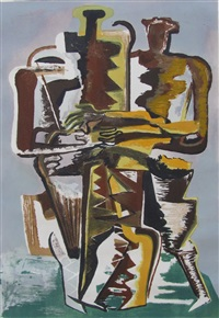 ennemis amicaux by ossip zadkine