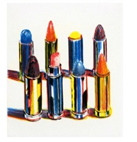 lipsticks by wayne thiebaud