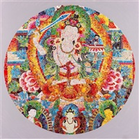 chakras no. 2 by ye hongxing
