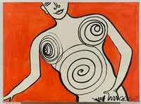 the grind lady by alexander calder