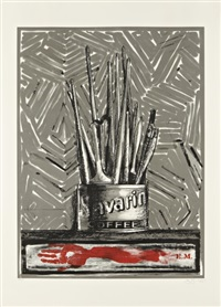 savarin by jasper johns