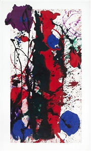 spring masters, new york by sam francis