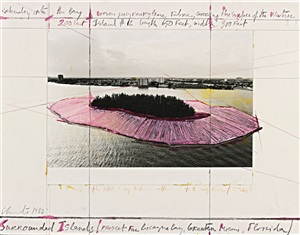 surrounded islands (project for biscayne bay, greater miami, florida) by christo and jeanne-claude