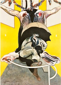 second version of painting (1946) by francis bacon