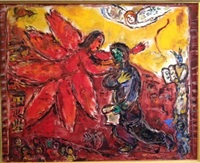 le prophête isaie by marc chagall
