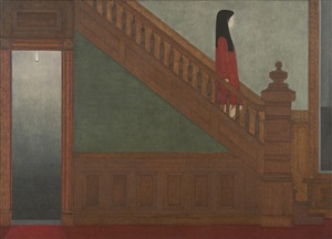 stairway by will barnet