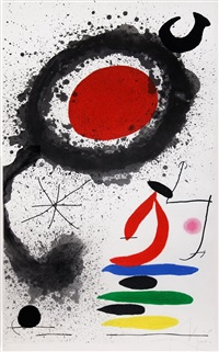soleil ébouillanté (the scalding sun) by joan miró