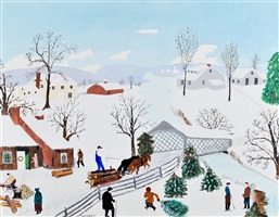 a christmas gift by grandma moses