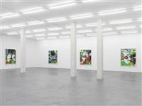 exhibition view ii by carroll dunham