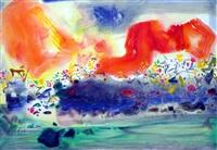 stormy ink - 2 - late summer by chu teh-chun
