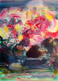 stormy ink - 3 - pink fall by chu teh-chun