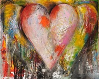 three hearts by jim dine