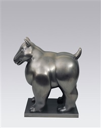 dog by fernando botero
