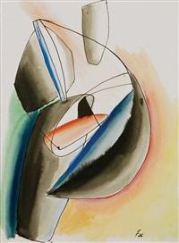 sculptural form by john ferren