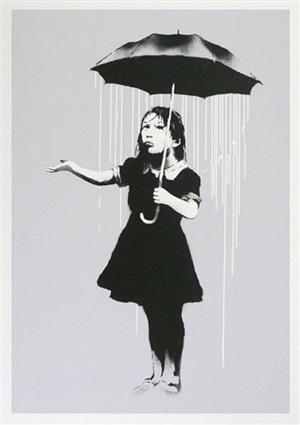 nola (signed) by banksy