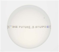 the future is stupid by jenny holzer