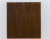 with one brush stroke, she crosses it out by mai-thu perret