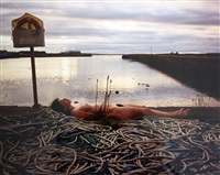 nude adrift by spencer tunick