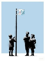 very little helps by banksy