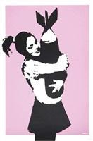 bomb hugger by banksy