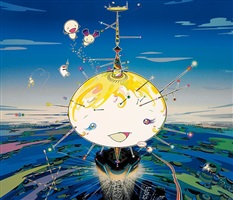 mamu came from the sky by takashi murakami